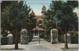 Entrance to a California Home, circa 1900