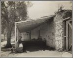 No. 13, Santa Clara College, Old Adobe Wall, 1911