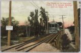 The Trestle on the Interurban Electric R.R. between Saratoga and Los Gatos, Calif., 1908