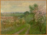Road with Blossoming Trees, 1922