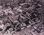 Aerial view of San Jose State College, 1959