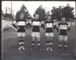 4 rugby players