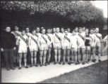 22 members of the 1912 track team with coaches version A2