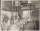 Grape brandy distillery